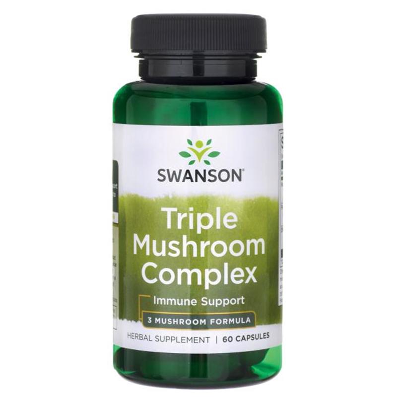 Swanson Triple Mushroom Standarized Complex