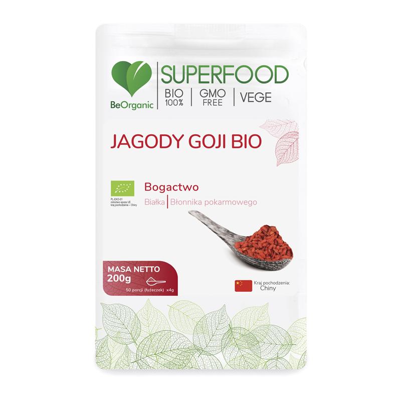 BeOrganic Jagody Goji Bio