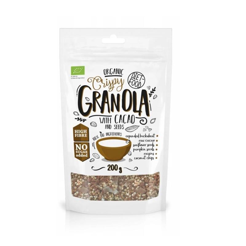 Diet Food Bio Granola z Kakao
