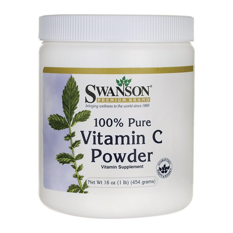 Swanson 100% Pure Vitamin C Powder