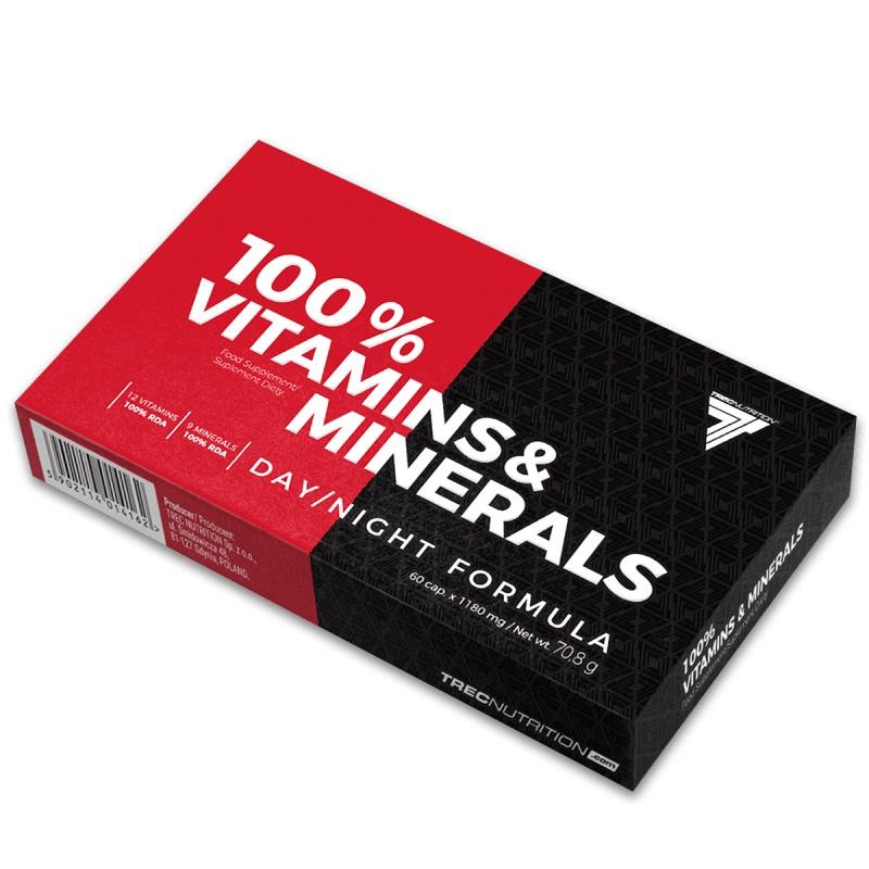 Trec 100% Vitamins & Minerals