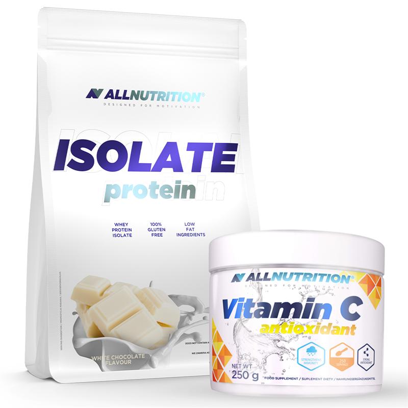 ALLNUTRITION Isolate Protein 908g + Vitamin C 250g Gratis