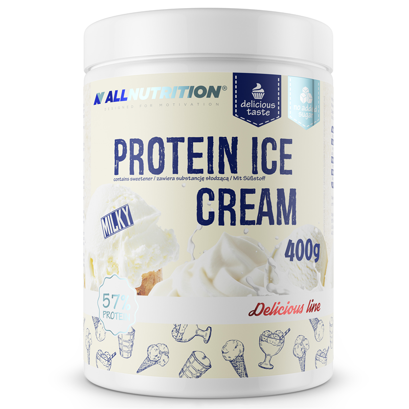 ALLNUTRITION Protein Ice Cream Milky