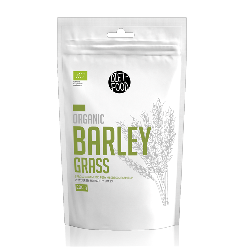 Diet Food Bio barleygrass - młode pędy jęczmienia