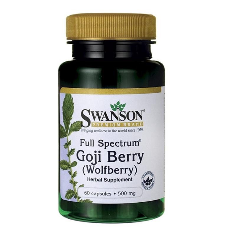 Swanson Full Spectrum Goji Berry (Wolfberry)