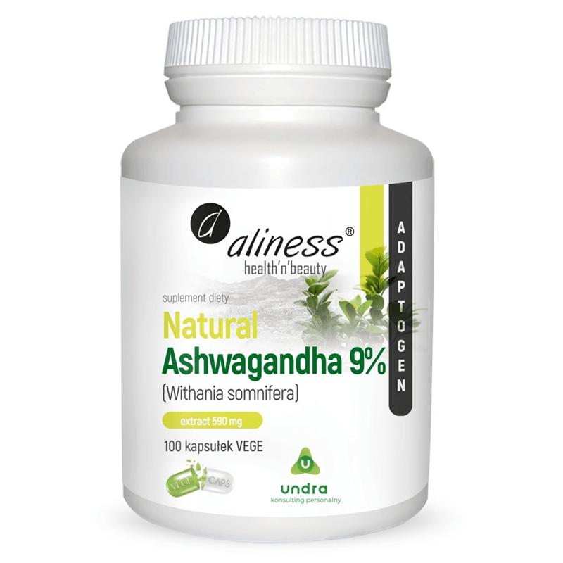 Medicaline Natural Ashwaganda 600 mg 9%