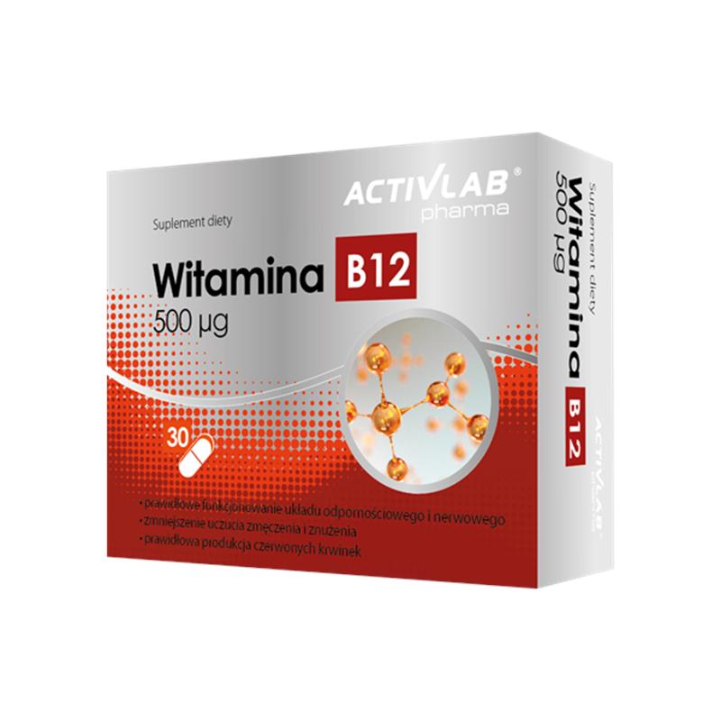 ActivLab Witamina B12 500 ΜG