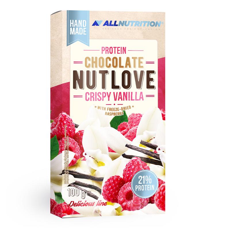 ALLNUTRITION Protein Chocolate Nutlove Crispy Vanilla