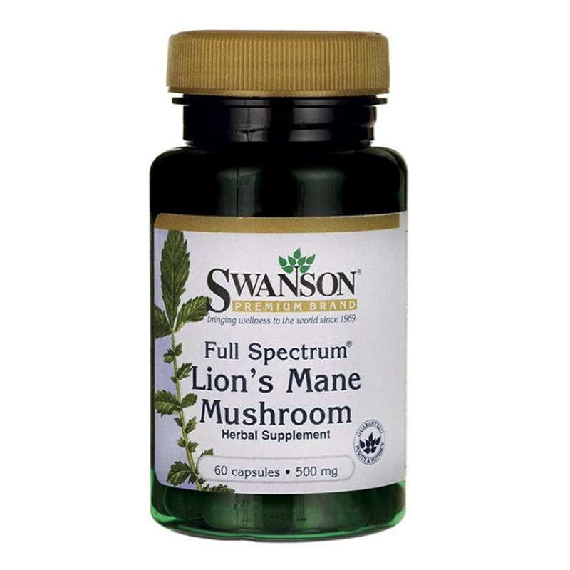 Swanson Full Spectrum Lion's Mane Mushroom
