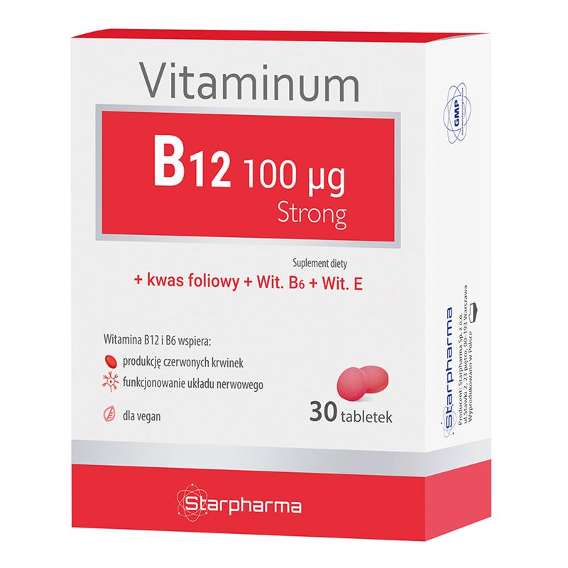 Starpharma Vitaminum B12 100 μg Strong