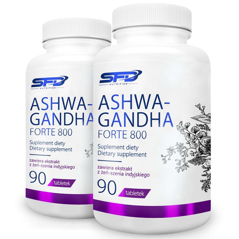 SFD NUTRITION 2x ASHWAGANDHA FORTE 800 90tab