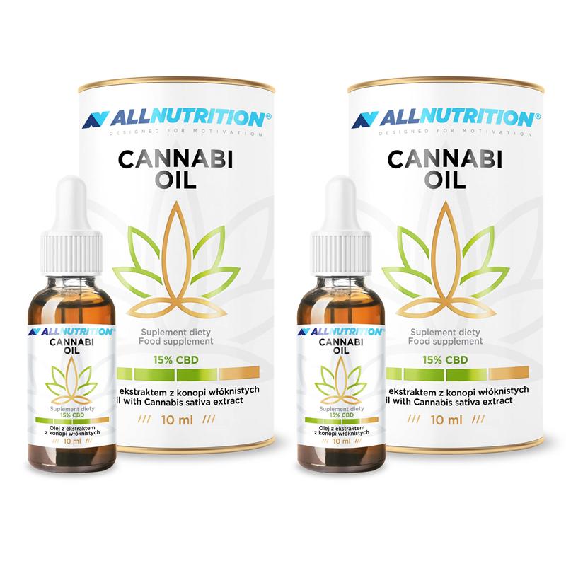 ALLNUTRITION 2x CANNABI OIL 15% 10ml