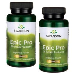 2x EPIC PRO 25-STRAIN PROBIOTIC 30caps+30caps