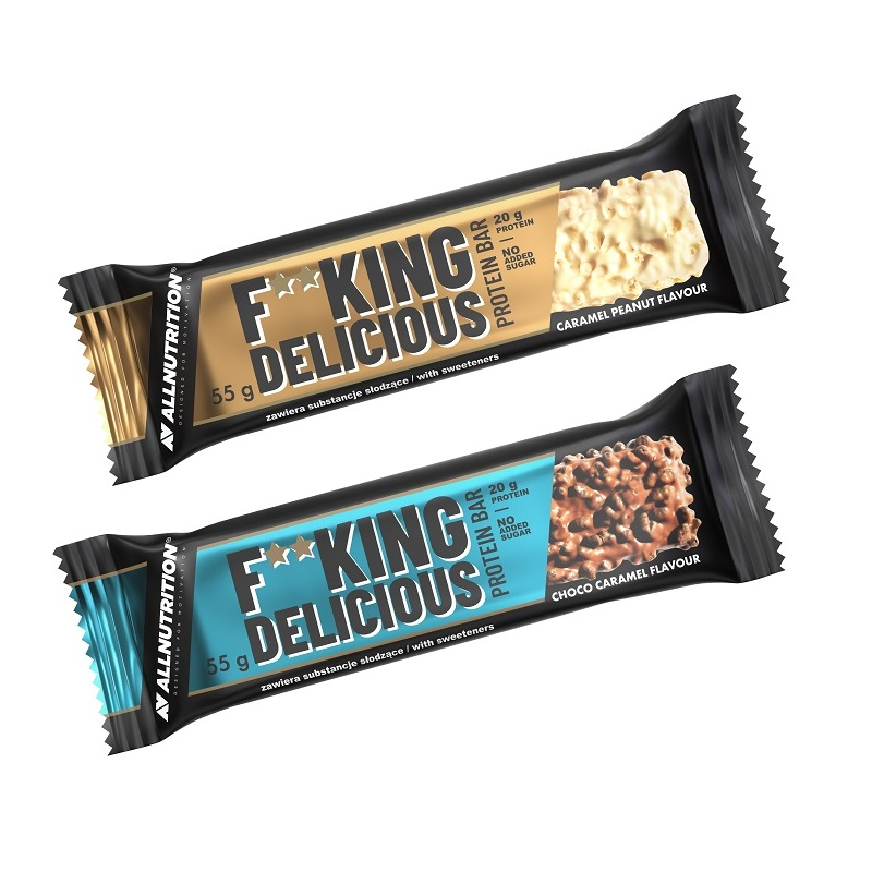 ALLNUTRITION 2x F--king Delicious Protein Bar 55g