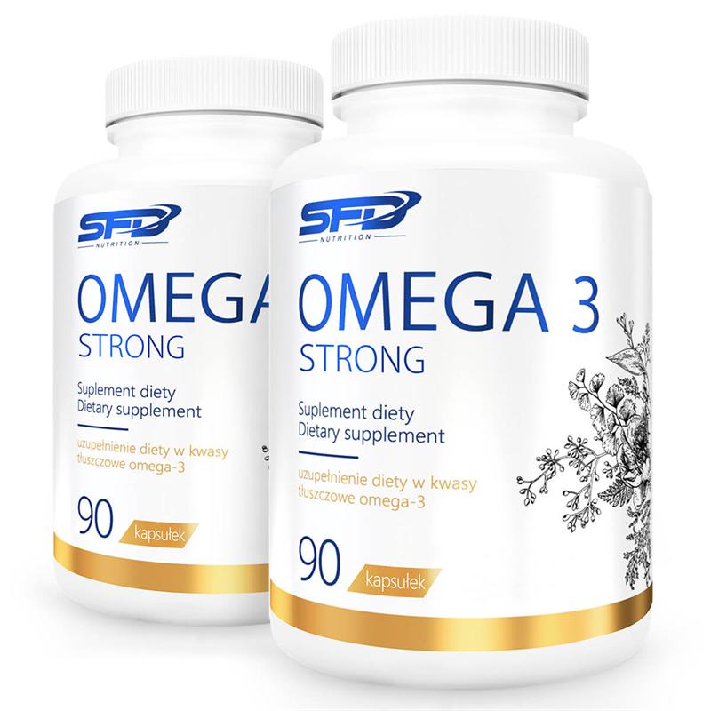 SFD NUTRITION 2x OMEGA 3 STRONG 90 kapsułek