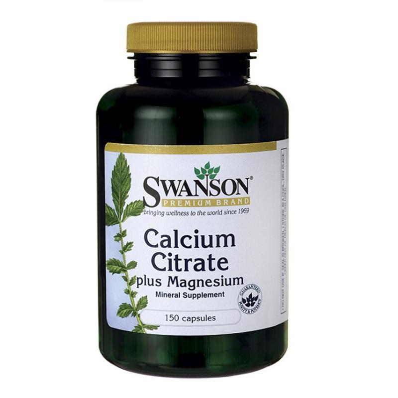 Swanson Calcium Citrate Plus Magnesium