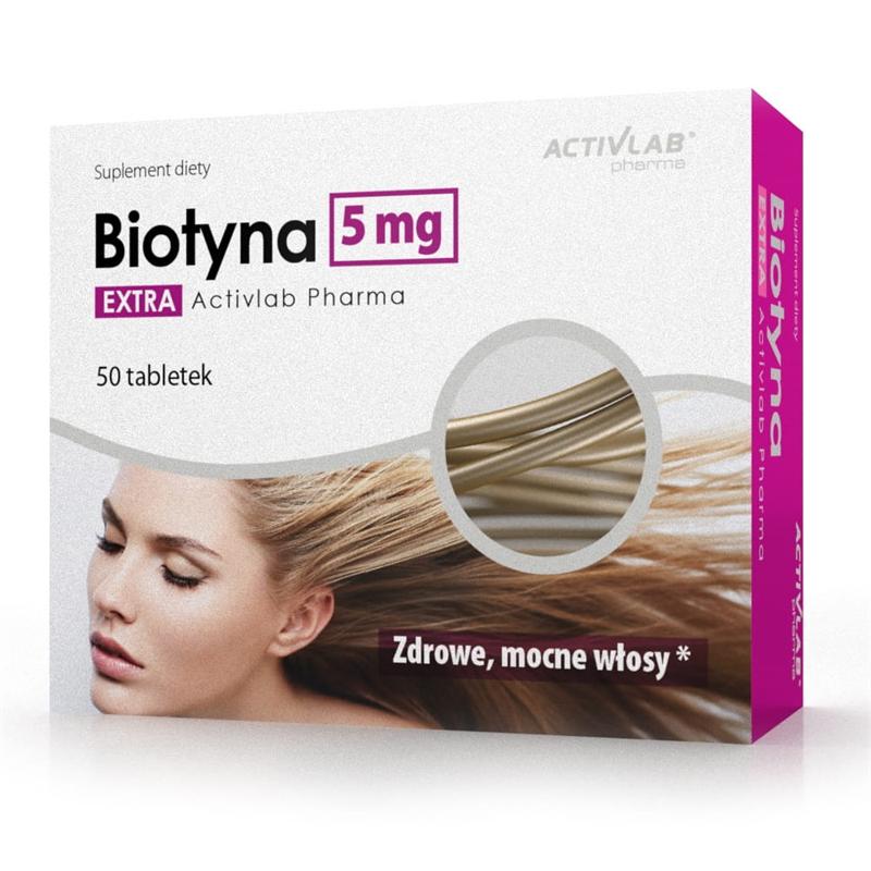 ActivLab Biotyna EXTRA 5mg