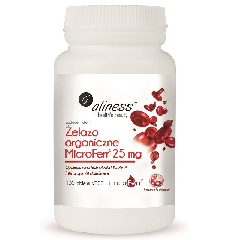 Medicaline Żelazo organiczne MicroFerr 25 mg