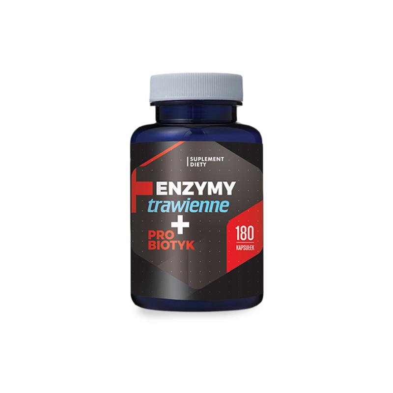 Hepatica Enzymy trawienne + Probiotyk