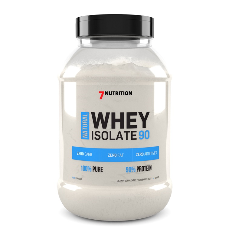 7Nutrition Natural Whey Isolate 90