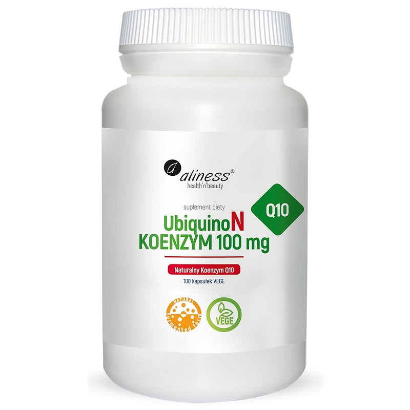 Medicaline UbiquinoN Naturalny KOENZYM Q10