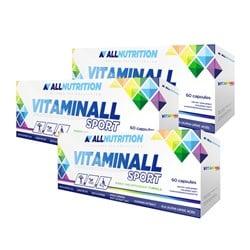 3x Vitaminall Sport 60 kapsułek