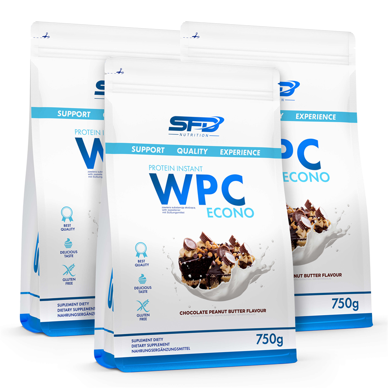 SFD NUTRITION 3x WPC Protein Econo 750g