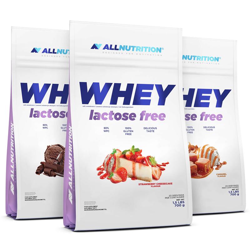 ALLNUTRITION 3x Whey Lactose Free 700g