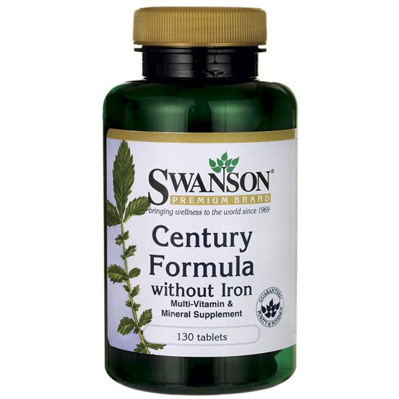 Swanson Century Formula Multivitamin without Iron