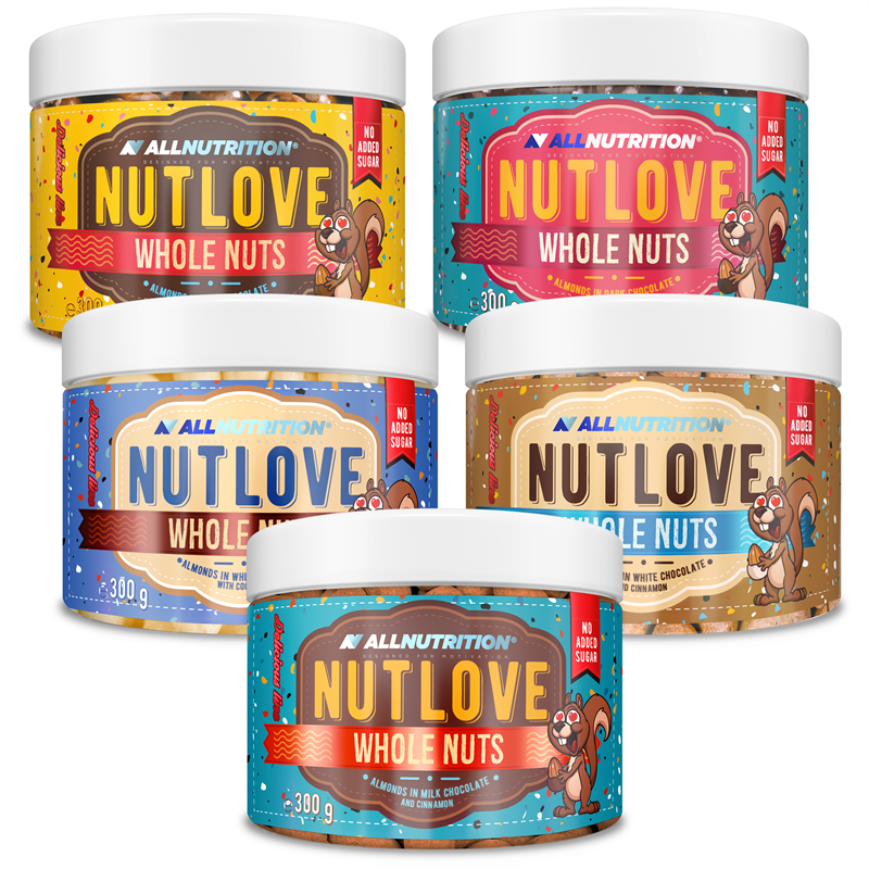 ALLNUTRITION 4+1 Gratis Nutlove Wholenuts - Migdały 300g