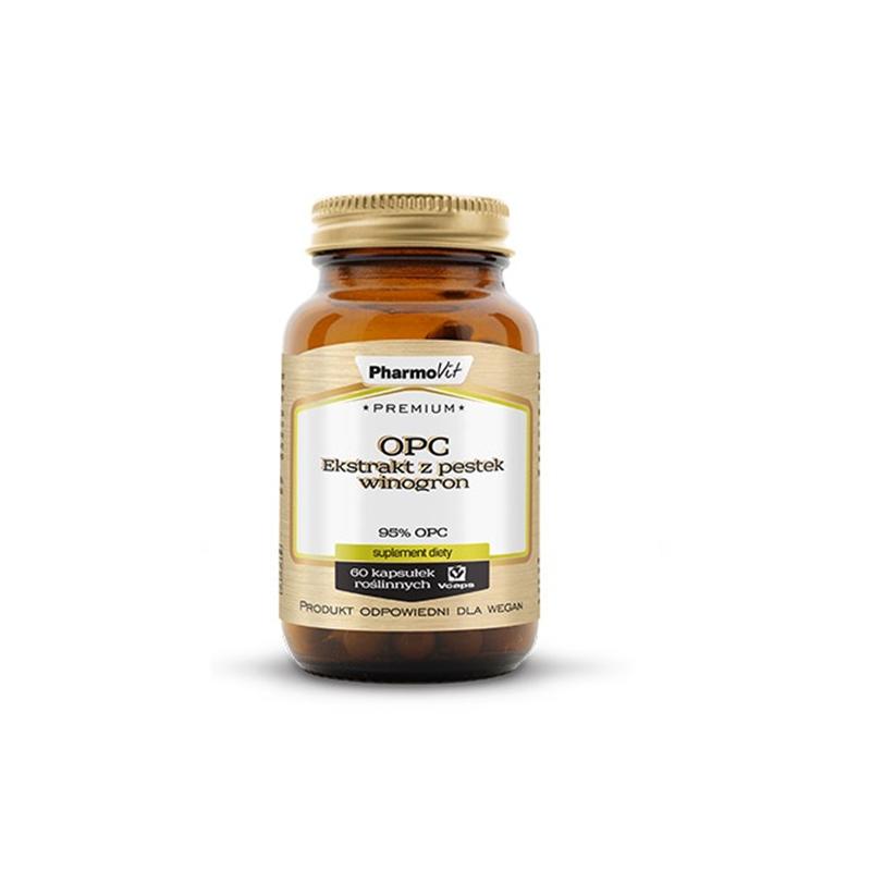 Pharmovit Premium OPC Ekstrakt Z Pestek Winogron