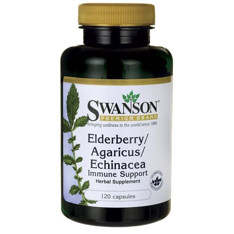 Swanson Elderberry/Agaricus/Echinacea
