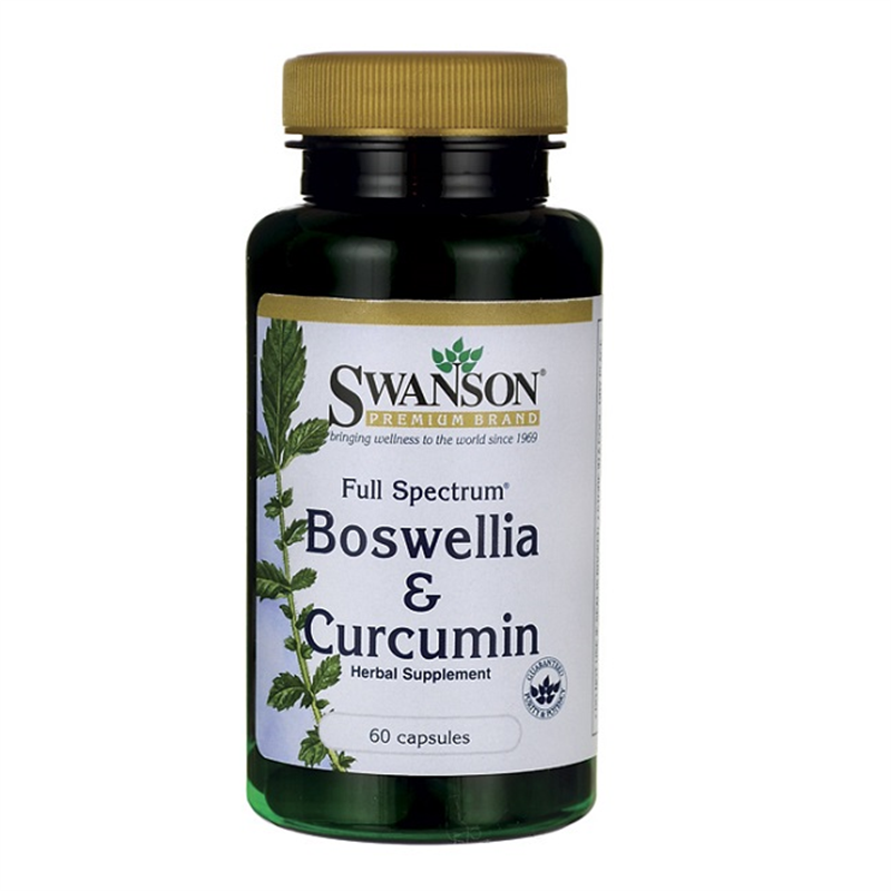 Swanson Full Spectrum Boswellia & Curcumin