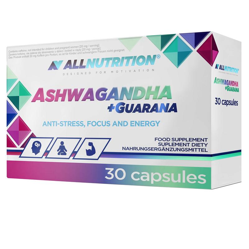 ALLNUTRITION Ashwagandha + Guarana