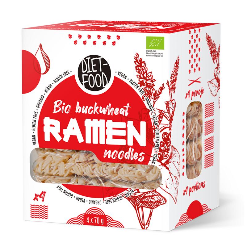 Diet Food Bio makaron gryczany soba 100% - RAMEN