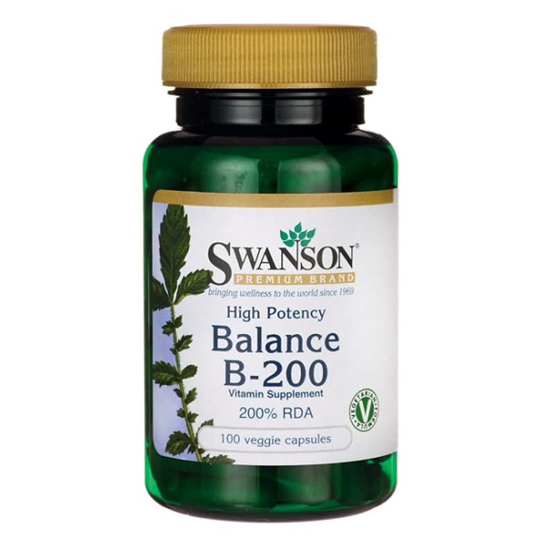 Swanson High Potency Balance B-200
