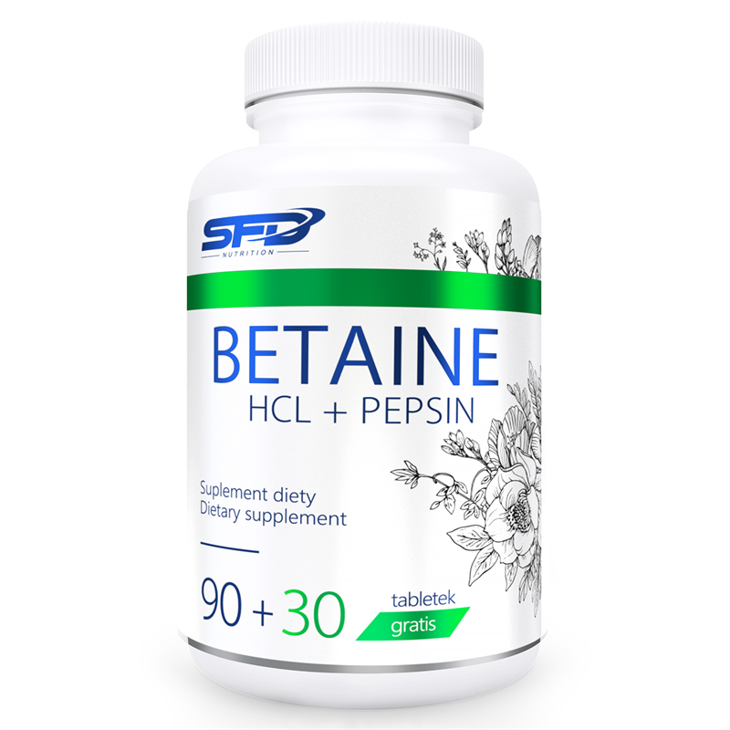 SFD NUTRITION Betaine HCL + Pepsin