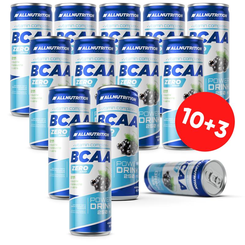 ALLNUTRITION 10 + 3 GRATIS BCAA Power Drink 250ml