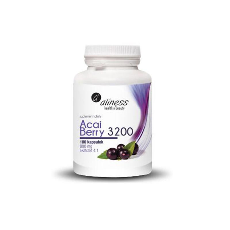 Medicaline Aliness Acai Berry 3200 z Acerolą i Chromem