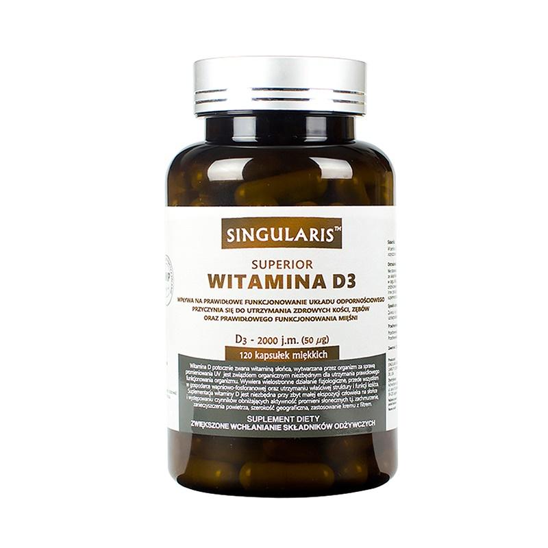 Singularis Witamina D3 2000 IU