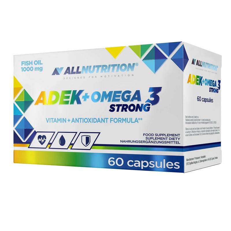 ALLNUTRITION ADEK + Omega 3 Strong
