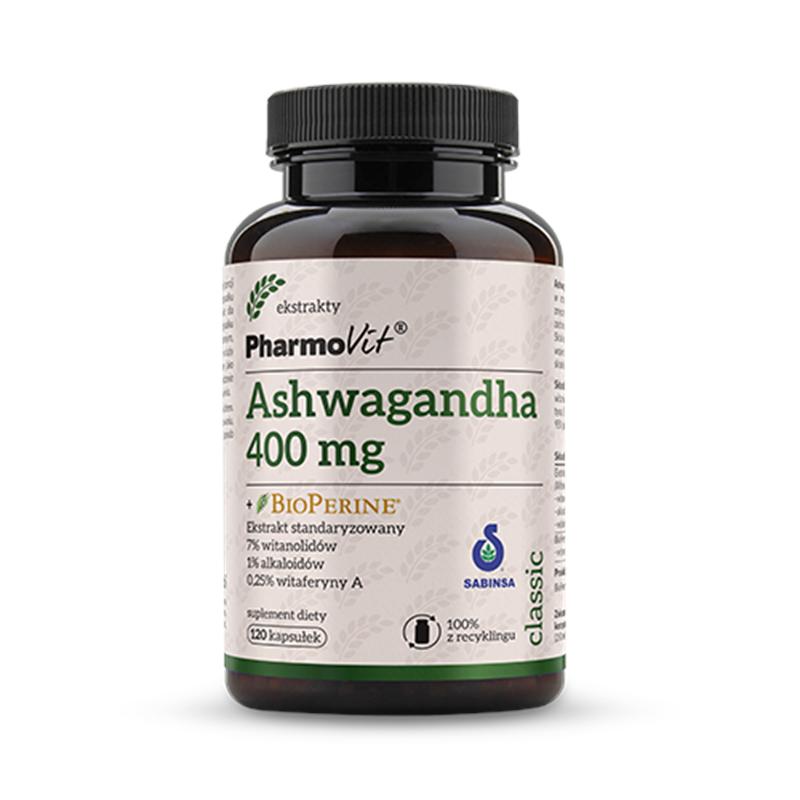 Pharmovit Ashwagandha + Bioperine