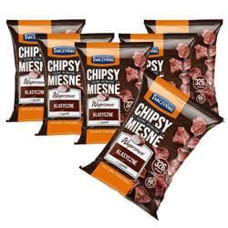 5 + 1 GRATIS Chipsy Mięsne 25g