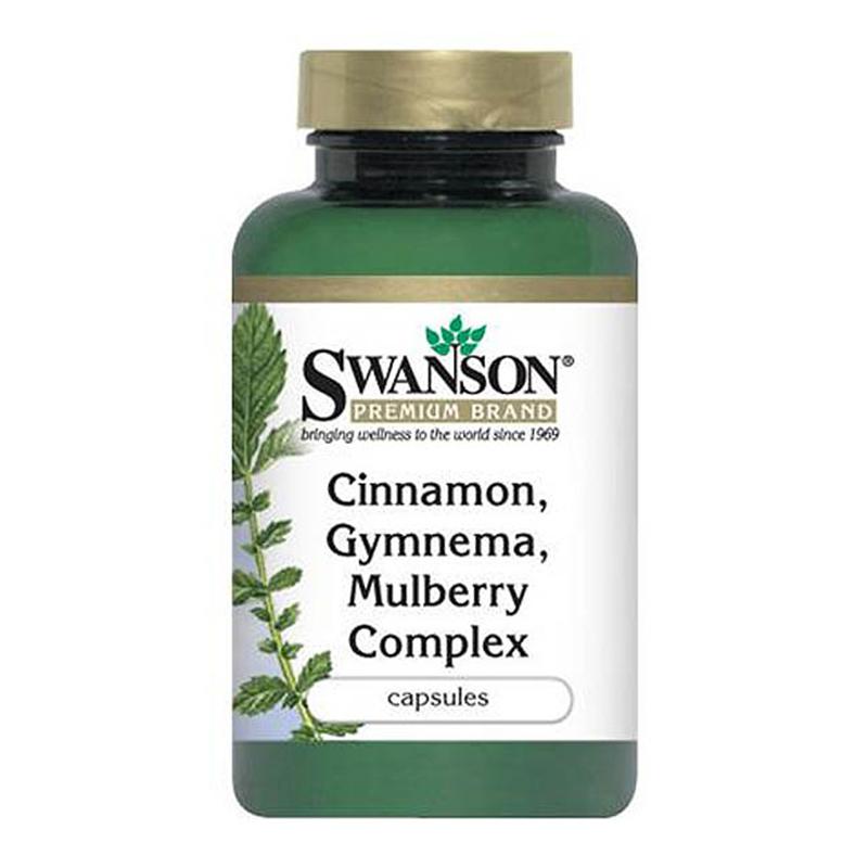 Swanson Kompleks Cynamonu, Gymnemny, Mulberry.