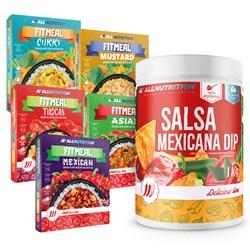 5x Fitmeal Mix 420g + Salsa Mexicana Dip 1000g Gratis