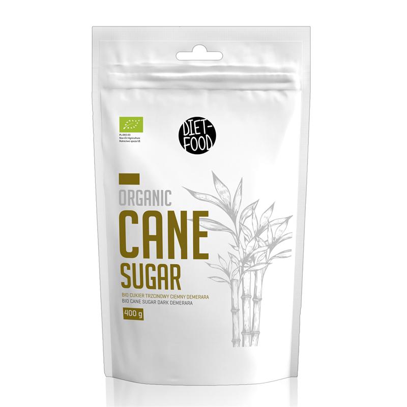 Diet Food Bio cukier trzcinowy dark DEMERARA