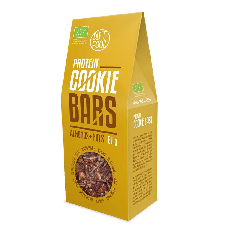 "Diet Food Bio ciasteczka proteinowe ""bar cookies"""