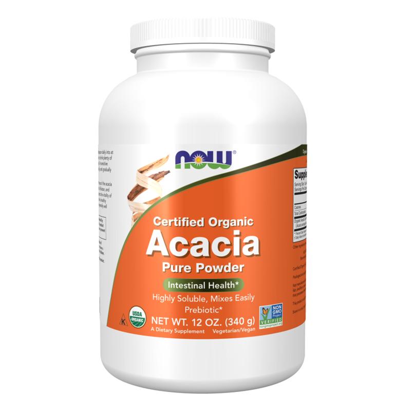 Now Acacia Fiber Organic Powder
