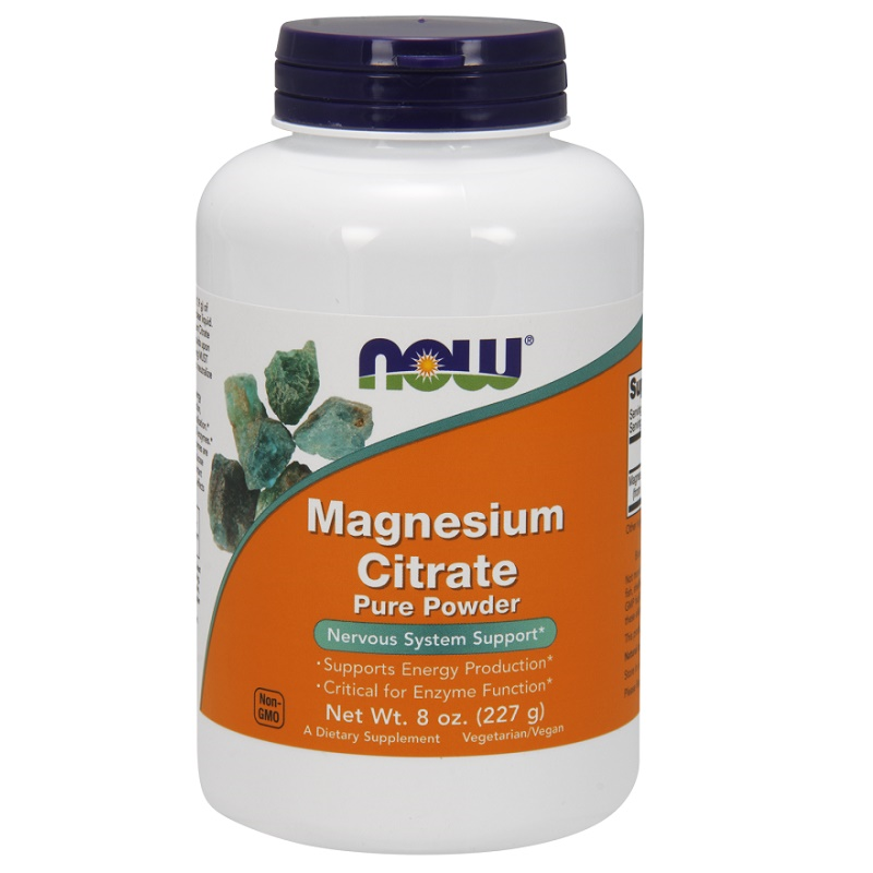 Now Magnesium Citrate Pure Powder