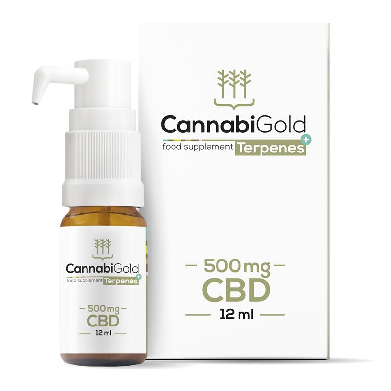 CannabiGold CannabiGold Terpenes+ 500MG